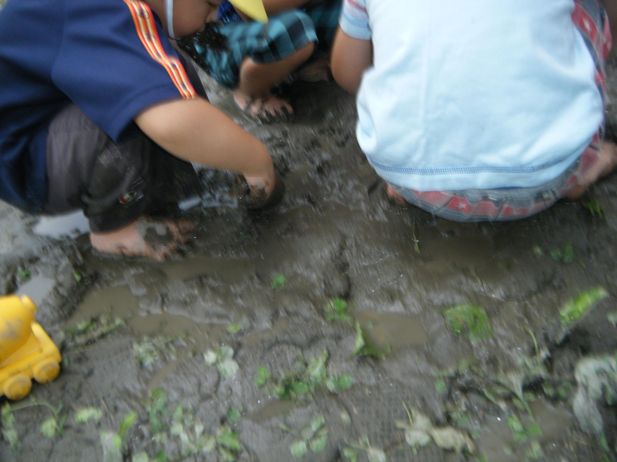 遊び ねらい 泥